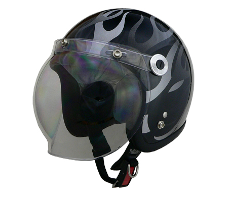 バートン ジェットヘルメット ブラックフレア