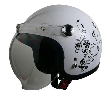 ストリート アリス ジェットヘルメット ホワイト
