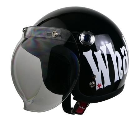 ストリート アリス ジェットヘルメット ブラック