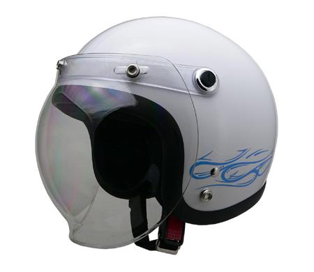 ストリート アリス ジェットヘルメット サーフホワイト