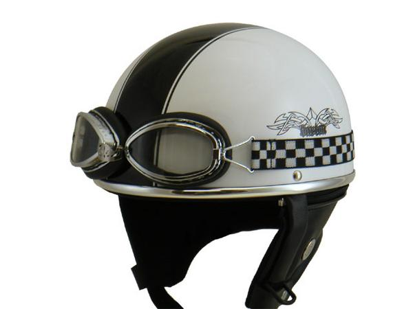 Barton ビンテージヘルメット 白