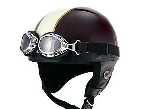 Barton ビンテージヘルメット ブラウン